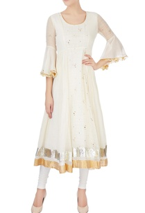 cream-badla-work-kurta