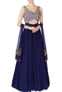 hand-embroidered-resham-bugle-bead-anarkali-gown