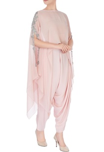 pastel-pink-embroidered-cape