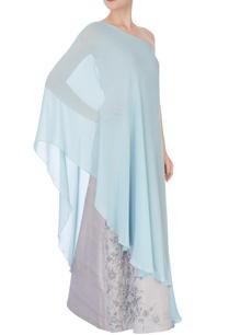 grey-tussar-satin-gown
