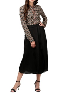 black-wrap-over-culottes