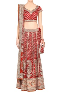 red-gold-lehenga-set
