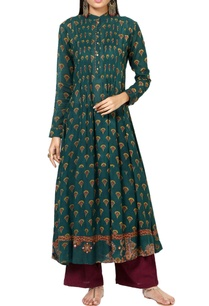 teal-green-printed-kurta