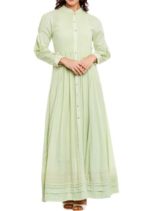 light-green-pleated-kurta