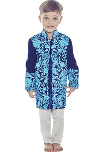 blue-velvet-sherwani-set