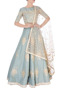 grey-embroidered-lehenga-blouse