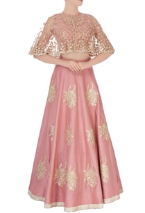 coral-pink-embroidered-lehenga