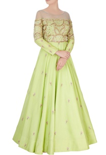light-green-embroidered-anarkali-gown