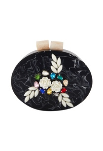 black-acrylic-oval-shaped-clutch