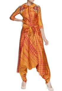 yellow-dhoti-style-jumpsuit