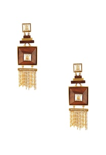 gold-princess-cut-swarosvki-crystal-earrings