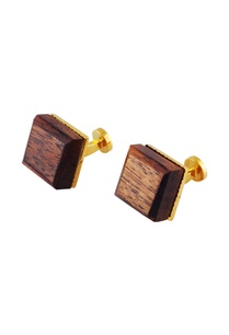 gold-handcrafted-wood-cube-cufflinks
