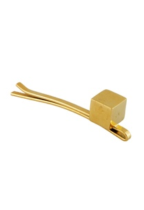 gold-hair-pin-with-single-metal-cube