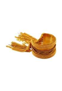 gold-cuff-bangle-with-beaded-chains