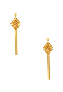 gold-diamond-shaped-earrings