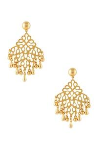 gold-teardrop-bead-statement-earrings