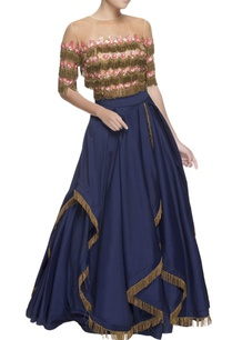 blue-gathered-lehenga-tassel-blouse