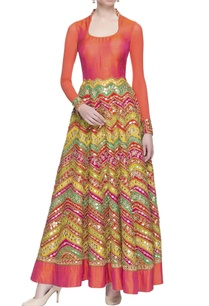 multicolored-gota-patti-anarkali
