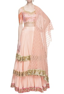 peach-gota-patti-embroidered-lehenga