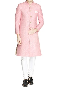 pastel-pink-embroidered-sherwani