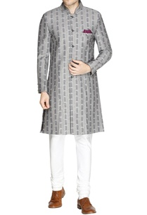 grey-printed-sherwani-churidar-pants