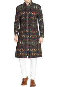 blue-floral-embroidered-sherwani