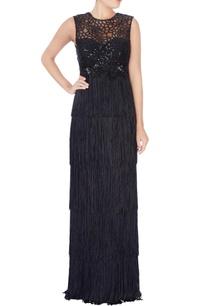 black-fringe-style-vintage-gown