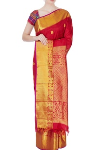 red-silk-kanchipuram-sari