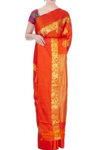 orange-mulberry-silk-kanchipuram-sari