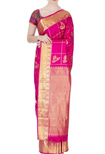 pink-kanchipuram-mulberry-silk-sari