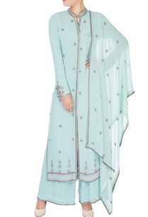 mint-blue-embroidered-kurta-set
