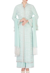 mint-blue-embellished-kurta-set