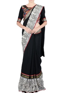 black-white-sari-in-sequin-embroidery-blouse