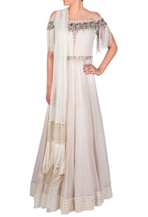 off-white-pearl-and-tassel-bead-anarkali