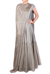 grey-dual-drape-anarkali