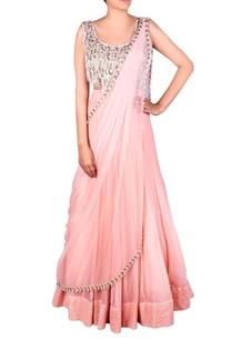 blush-pink-bead-tassel-anarkali-gown