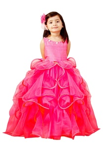 hot-pink-ruffle-balloon-gown