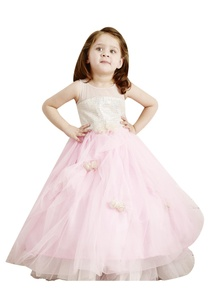 pastel-pink-flared-flowergirl-gown