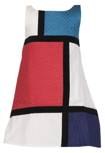 color-blocked-a-line-velvet-dress
