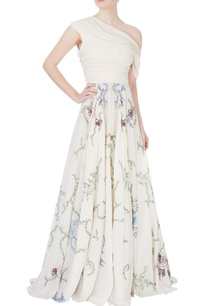white-off-shoulder-embroidered-gown