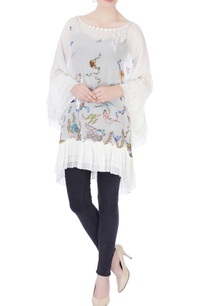 white-ruffled-layered-kaftan