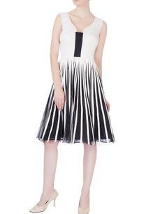 white-tulle-stripe-dress