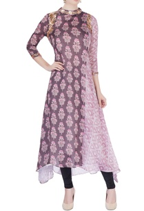 purple-bandhani-printed-long-kurta