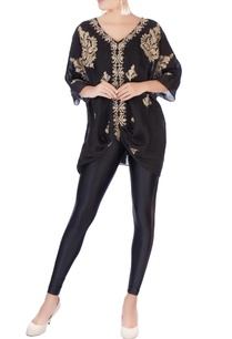 black-embroidered-kaftan-tunic