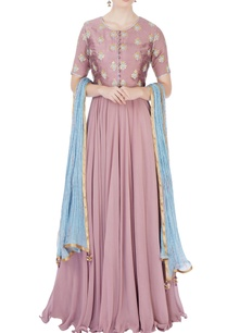 purple-embroidered-anarkali-set