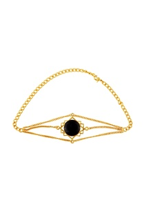 gold-plated-onyx-choker-necklace
