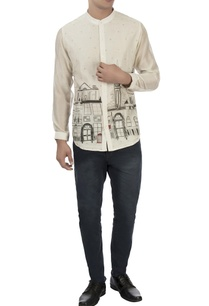 white-london-hand-painted-shirt