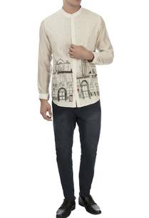 white-london-hand-painted-shirt