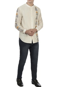 white-monk-embroidered-shirt