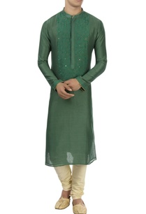 green-patra-embroidered-kurta